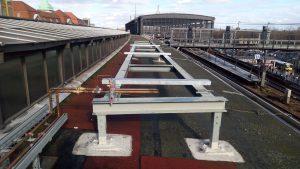 Kruppa Stahlbau - Unterkonstruktion