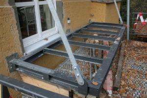 Kruppa Stahlbau - Balkonanbau