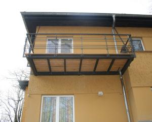 Kruppa-Balkonanbau