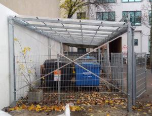 Kruppa Stahlbau - Müllplatzeinhausung